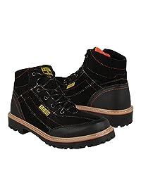 STYLO Zapatos Caballero Botas 400 Suede Negro