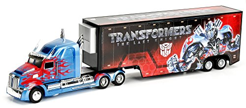 Jada 98193 Western Star 5700 XE Optimus Prime Hauler Transformers 5 1/64 Diecast Model Car by Jada