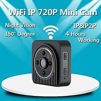 Mini Camera Wireless Wifi H5 Mini Security Camera HD 1280X720P IP Night Vision Camcorder Camera