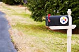 NFL Pittsburgh Steelers 2MBC3824Pittsburgh Steelers, Mailbox Cover, Black