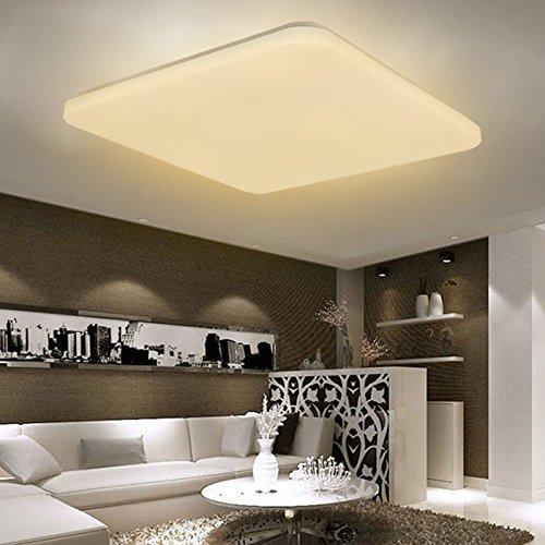 36W LED Deckenleuchte Kaltweiß Deckenlampe Wohnzimmer Ultraslim Panellampe Küche