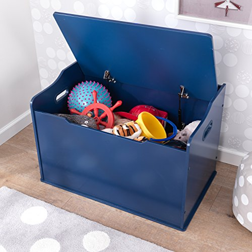 "51lGabDEqPL - KidKraft 14959 Austin Toy Box, Blueberry, 30Lx18Wx21.25""H"