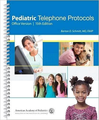 pediatric telephone protocols office version 9781581109566 medicine health science books amazoncom amazoncom stills office