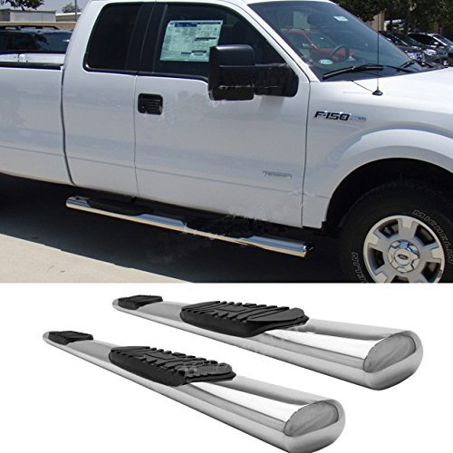Fit 99-03 Ford F150 Super/Extended Cab (w/ 2 Half Size Suicide Style Rear Doors) 4
