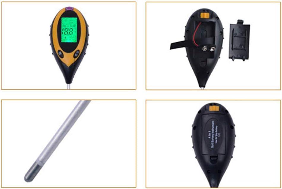 Kit Tester per Terreno Livelli di PH del Suolo FJHJB Luce Solare 4 in 1 Lux