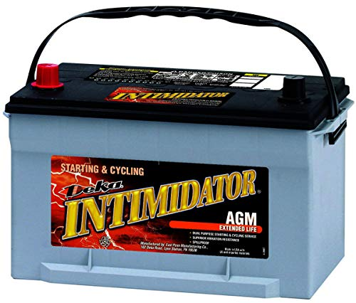 Deka 9A65 AGM Intimidator Battery