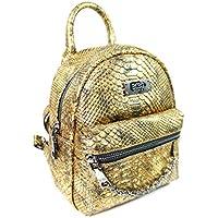BCBG Max Azria Paris Main St Petite Gold Backpack
