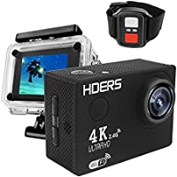 4K UltraHD Sport Action Camera F60R WIFI Waterproof Video Camera 16MP/12MP 4K 30FPS 1080P 60FPS 2.0 Inch LCD 170 Degree Lens Helmet Cam Marine Diving Recorder DV Camcorder With Remote Control