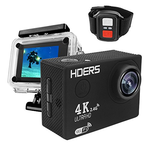 4K UltraHD Sport Action Camera F60R WIFI Waterproof Video Ca