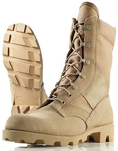 McRae Military Men's Army Combat Hot Weather Flight & Vehicle Boot Gore-Tex TWCB Desert Tan (13.5 XW US, McRae Desert Tan) (Cordura Insulated Combat Boot)