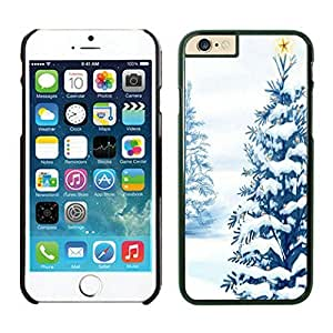 The Christmas Tree On Christmas Day Lovely Mobile Phone Protection Shell for iphone 5C Case-Unique Soft Edge Case(2015),Christmas tree iPhone 5C Case 29 Black