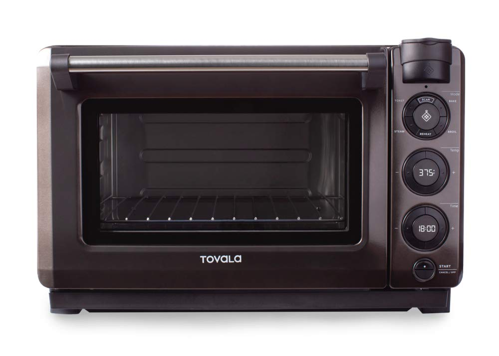 Tovala Gen 2 Smart Steam Oven With With Multi-Mode Programmable Cooking, Small, Black and Stainless