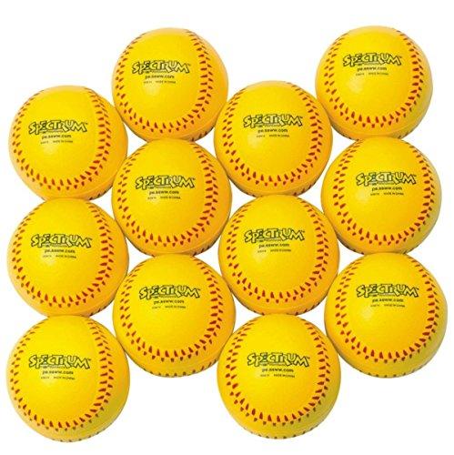 S&S Worldwide Spectrum Foam Softballs (dozen)