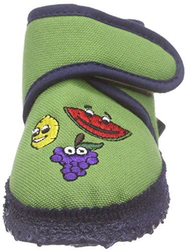 Nanga Freche Früchte - Pantuflas Bebé-Niños Verde - Grün (90)