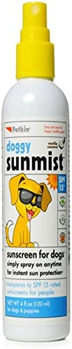 Petkin SPF 15 Doggy Sun Mist, 4-oz bottle