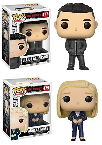 Funko POP! Mr Robot Elliot Alderson + Angela Moss – Stylized Vinyl Figure NEW
