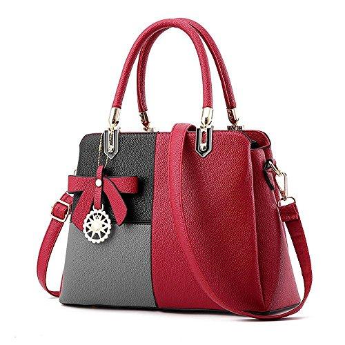 Aoligei Capacité sac sac grande femme pack croix diagonale de simple sac à main épaule seule l'orthographe C