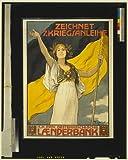 1917 Photo Zeichnet 7%2E Kriegsanleihe %