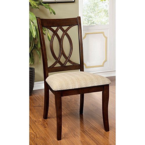 Furniture of America Frescina 2-Piece Dining Side Chair