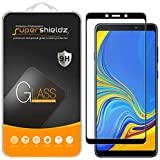 (2 Pack) Supershieldz for Samsung Galaxy A9 (2018) Tempered Glass Screen Protector, (Full Screen Coverage) Anti Scratch, Bubb