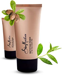 product image for SheaMoisture Mattifying Primer - Matte Face Primer Hydrates and Balances Skin - Made with Organic Shea Butter, Tea Tree and Kaolin Clay (Good for oily, acne prone or sensitive skin) (2 Pack (3.4oz))