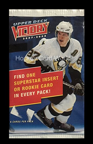2007-08 Upper Deck Victory Hockey Hobby Pack - Look for Toews, Kane, Lucic, (Victory Hockey Hobby Box)