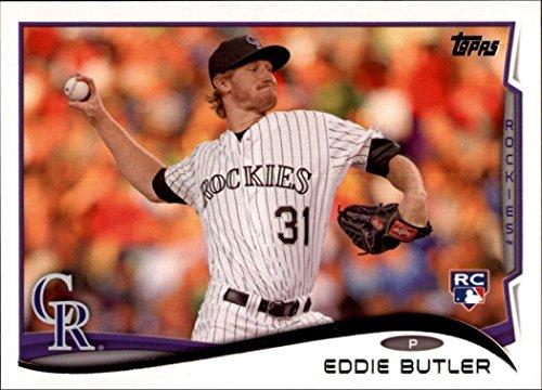 2014 Topps Update Baseball Card #US262 Eddie Butler NM-MT