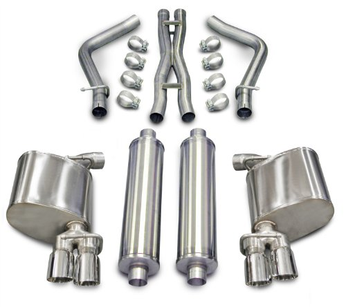 CORSA 14522 Dual Cat-Back Exhaust System for Dodge Charger ()