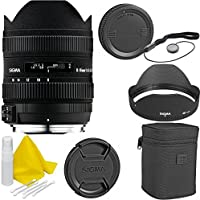 Sigma 8-16mm f/4.5-5.6 DC HSM Ultra Wide Lens for Canon Cameras