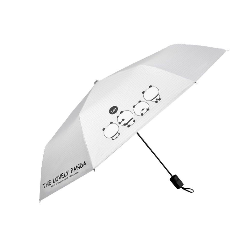 Hw home サニー傘 レディース デュアル使用 小型 新鮮 かわいい シンプル クリエイティブ 日よけ 傘 折りたたみ式 (カラー:C) B07CNWKZJT