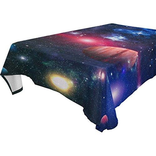ALAZA U LIFE Galaxy Universe Space Stars Starry Nebula Table