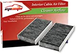 EPAuto CP135 (CF10135) Honda / Acura Premium Cabin Air Filter includes Activated Carbon