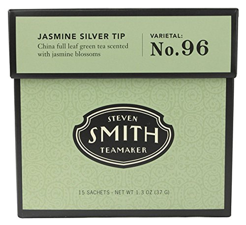 Smith Teamaker 1751 Smith Teamaker Jasmine Silver Tip Green Tea - 6x15 Bag by Smith Teamaker