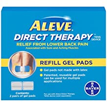 Aleve Direct Therapy TENS Device Refill Gel Pads - 2 pairs