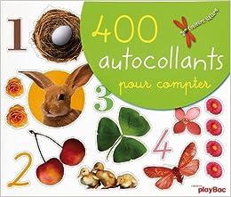 Couleurs De LA Nature: 400 Autocollants Pour Compter
