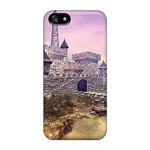 Bernardrmop Case Cover For Iphone 5/5s - Retailer Packaging Castle Reflection Protective Case