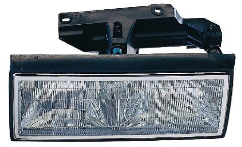 Depo 332-1171L-AS Cadillac DeVille/Fleetwood Driver Side Replacement Headlight Assembly Replacement Headlight Driver