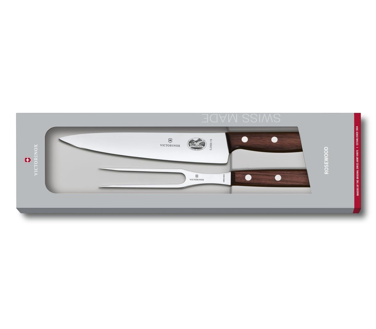 Victorinox 2-Piece Rosewood Carving Set by Victorinox