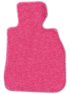 ZERO ゼロ フロアマット(脱臭消臭加工済み) トヨタ ヴェルファイア 8人 後期 :式 H23/11~H27/1 ANH20W25W、GGH20W25W 用 ZEROスペシャル ピンク ヒールパッド付B00UMU2DD0--
