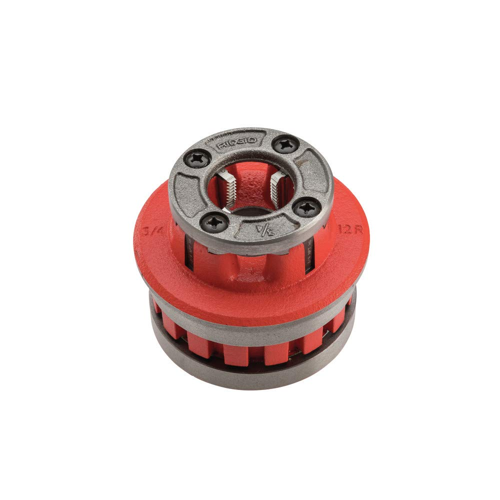 Ridgid 37485 Hand Threader Die Head for Model Number- 12R, High Speed, Right Hand, 3/4-Inch by Ridgid