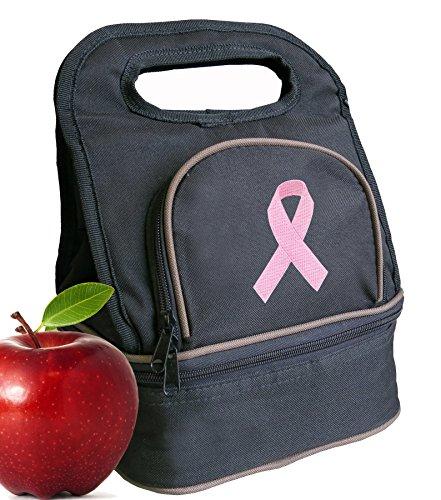 pink ribbon lunch bag lunchbox