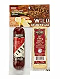 Hunters Reserve Wild Encounters, Bison & Hot Pepper Cheese,The Ultimate Pairing Of Savory Deliciousness, 8 Ounce