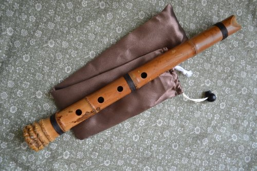 Craftsman Style Rough (1.4 Shakuhachi Pentatonic w. Root End -- Zen Instrument (Notes:#F/A/B/#C/E))