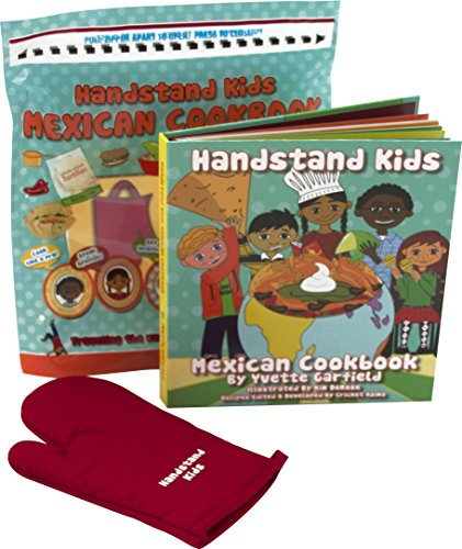 Handstand Kids in the Kitchen Mexican Cookbook Gift Set with