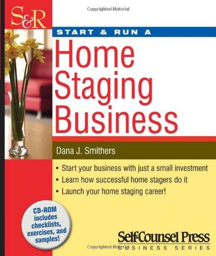 Charmant Start U0026 Run A Home Staging Business [With CDROM]: Amazon.de: Dana Smithers:  Fremdsprachige Bücher