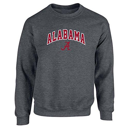 Alabama Crimson Tide Crewneck Sweatshirt Heather Gray