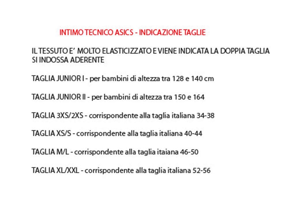 e666a8b281 ASICS Maglia Maniche Lunghe Intimo Sportivo Uomo Winter Henry Rosso T633ZN,  Taglia: XS-S: Amazon.it: Sport e tempo libero