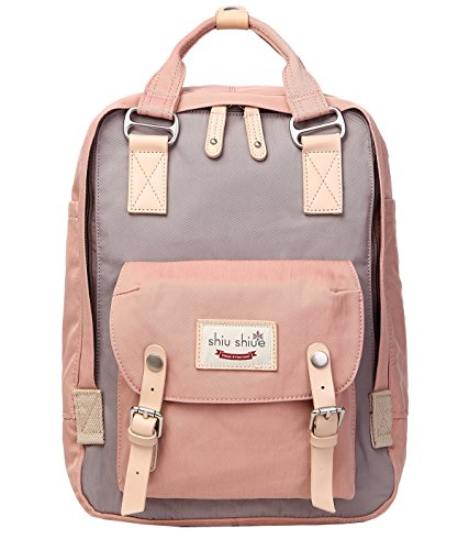 Water-resistant School Backpack Girls Boys Travel Bag Student Daypack fits 13.3-15.6inch Laptop
