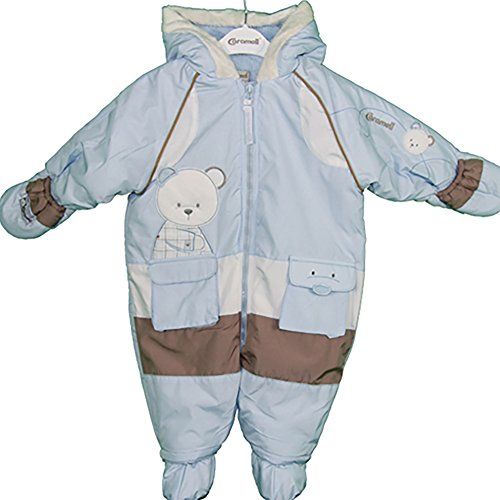 CUTE BABY BEAR ESKIMO SUIT (6 Months, -