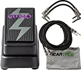 Dunlop Cry Baby GZR95 Geezer Butler Bass Wah w/ Cloth and 4 Cables